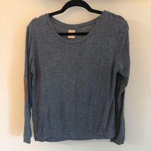 ZARA long sleeve gray sweater